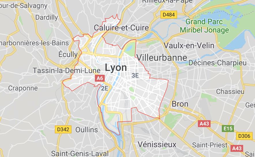 Lyon : violente bagarre, 2 personnes gravement blessées