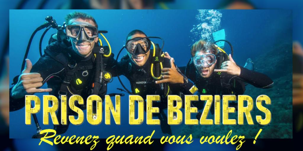 Prison de Béziers (34): l'activité plongée pour les détenus fait grincer des dents