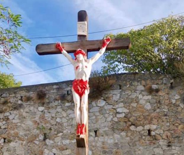 Marseille : le Christ de l'église de la Croix-Rouge vandalisé pour la 5e fois (MàJ: nouvelles dégradations)