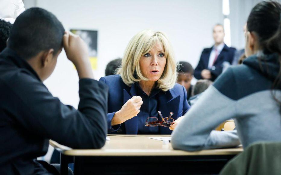 Brigitte Macron dispensera des « masterclass » de français, une fois par mois environ, en plus de piloter le projet.