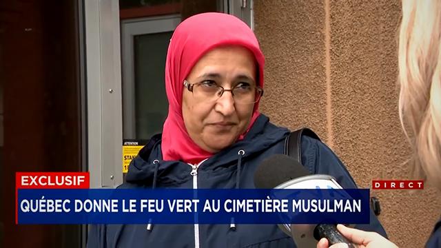 Québec : le gouvernement donne le feu vert au cimetière musulman