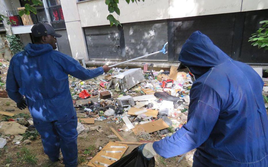 Essonne : la « décharge » au pied des tours de Grigny 2 va disparaître
