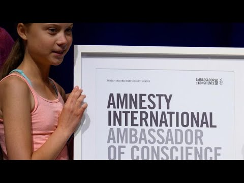 Amnesty International fait de Greta Thunberg son « ambassadrice de conscience »