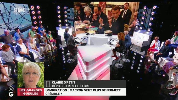 Claire O'Petit (LREM) : «Il faut absolument répartir les migrants sur des villes moyennes dans toute la France, dès les premiers jours !»