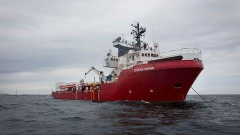 L'Italie autorise l'Ocean Viking à débarquer 82 migrants à Lampedusa