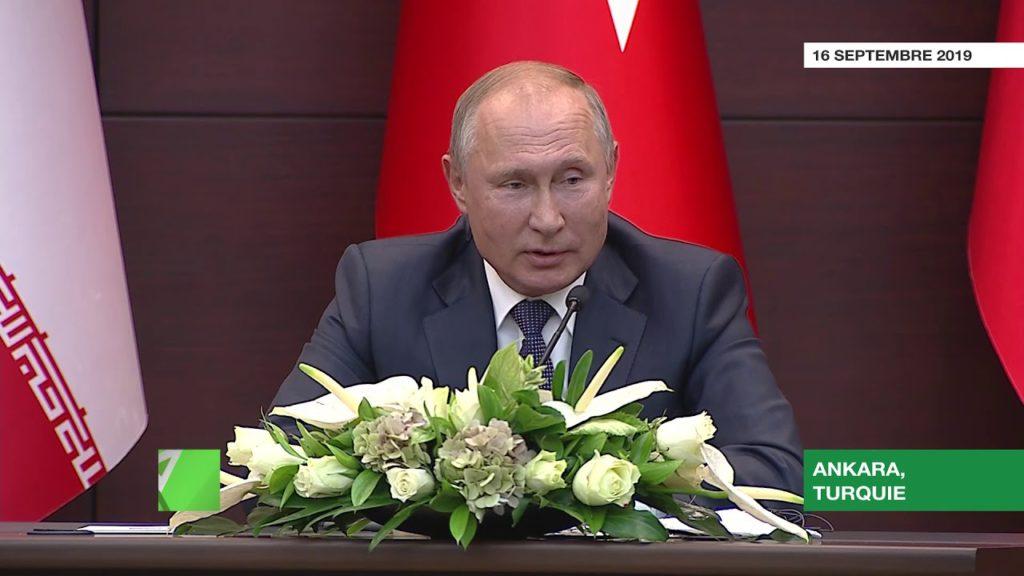 Poutine cite le Coran… et conseille à l'Arabie saoudite d'acheter des S-400 russes