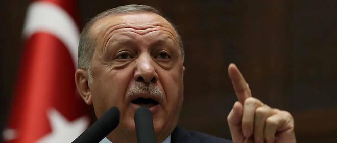 Syrie : Erdogan s'en prend violemment à l'Occident