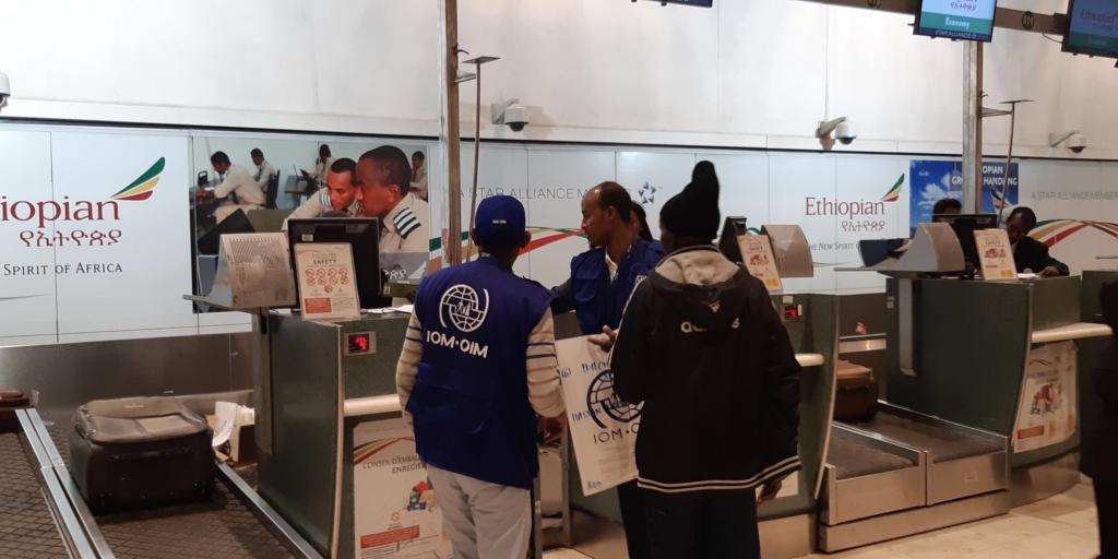 Allemagne : Arrivée du premier vol de réfugiés en provenance d'Éthiopie