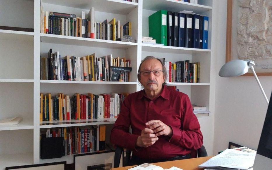 Après 70 ans passés à Aubervilliers (93), le sympathisant communiste Didier Daeninckx quitte la ville