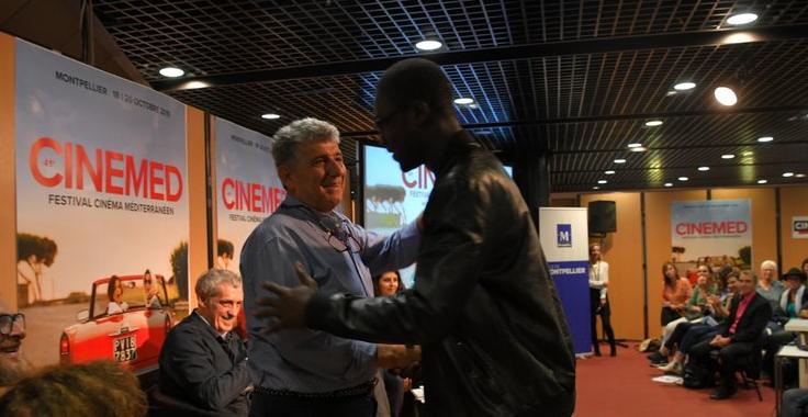 Montpellier (34) : un jeune migrant retrouve son médecin de Lampedusa au festival Cinemed