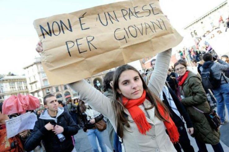 Italie : le pays où 1/3 de la jeunesse est inactive