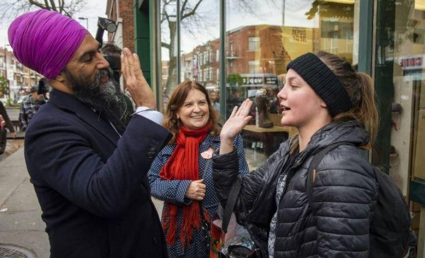 Canada : le dirigeant du Nouveau parti démocratique (NPD), symbole multiculturel, veut s'imposer sur la scène politique nationale
