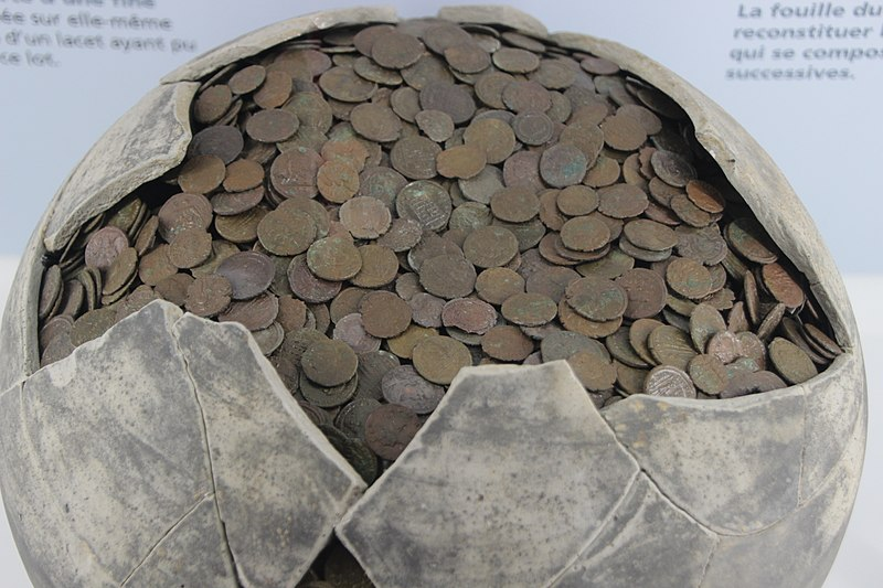 Saint-Germain de Varreville (50) : le trésor serait une tirelire datant de l'empire romain