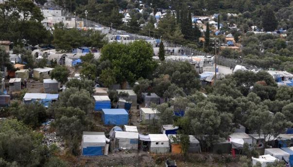 Grèce : nouvel incendie dans un camp de migrants surpeuplé sur l'île de Samos