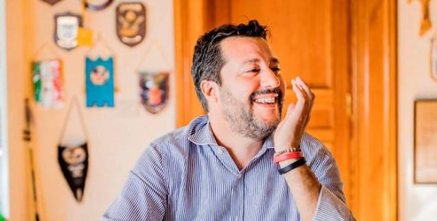 Salvini : « Emmanuel Macron est le nouveau visage de l'ancien système »