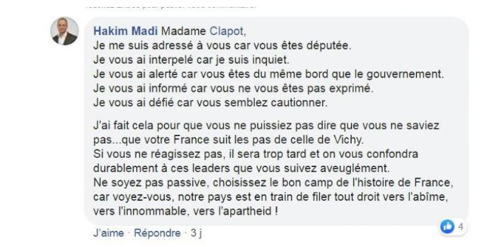 """Valence (26) : l'État souhaite porter plainte pour diffamation contre Hakim Madi, qui dénonce un """"climat raciste et islamophobe"""""""