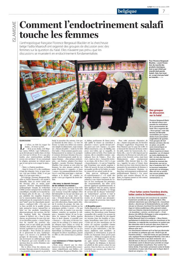 Comment l'endoctrinement salafi touche les femmes