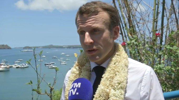 Mayotte : Macron met en garde contre une immigration clandestine «pouvant déstabiliser un territoire»