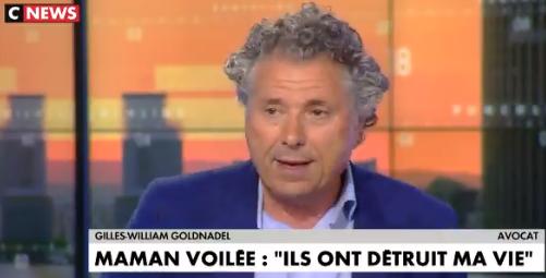 Gilles-William Goldnadel : «Le CCIF (Collectif contre l'islamophobie en France) est un organisme proche des Frères musulmans qui a un projet d'islam politique»