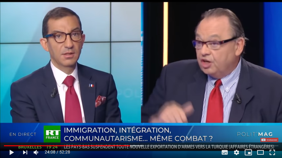 «Monsieur Mennucci, je vous conseille de vendre votre montre Breitling à 7000 € pour accueillir un immigré chez vous» (Messiha)