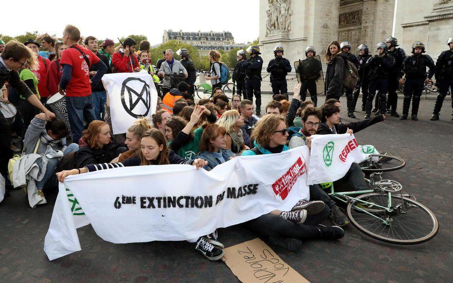 Certains activistes d'Extinction Rebellion sont-ils vraiment rémunérés ?