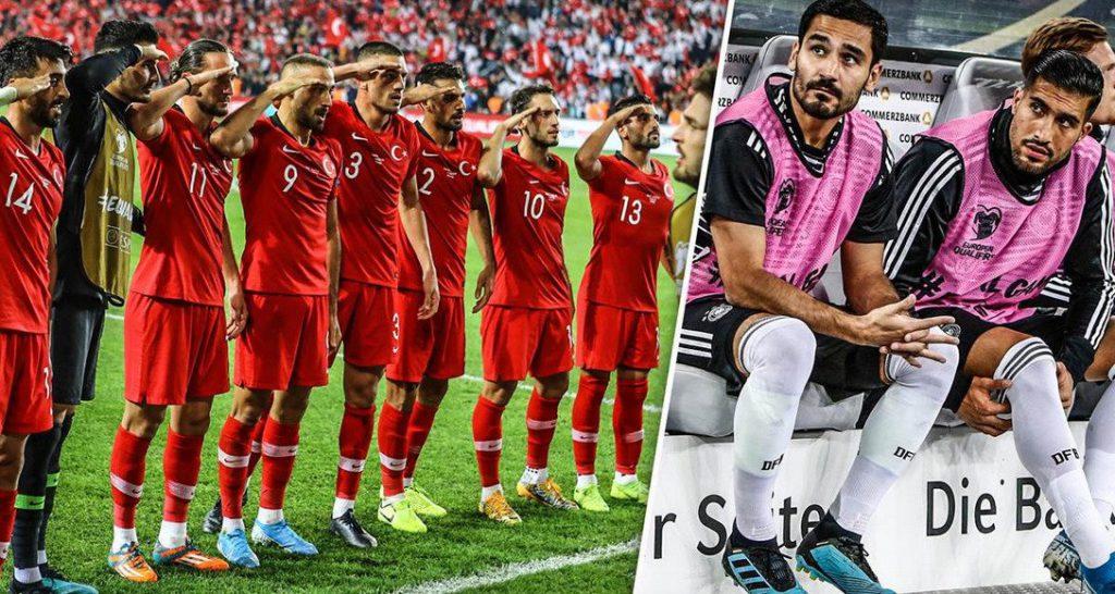 Football : deux internationaux allemands critiqués pour avoir «liké» une photo du salut militaire des joueurs turcs