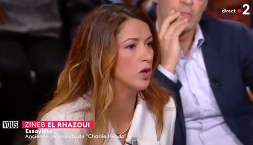 Zineb El Rhazoui : «Depuis 2012, 263 personnes ont été tuées dans des attentats islamistes en France. Ce que les islamistes appellent l'islamophobie a fait 0 mort.»