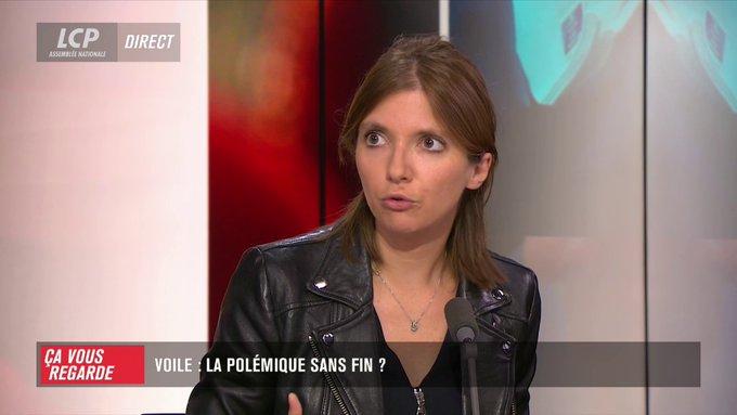 Aurore Bergé (LREM) votera la proposition de loi d'Eric Ciotti (LR) visant à interdire le port du voile aux accompagnants lors des sorties scolaires