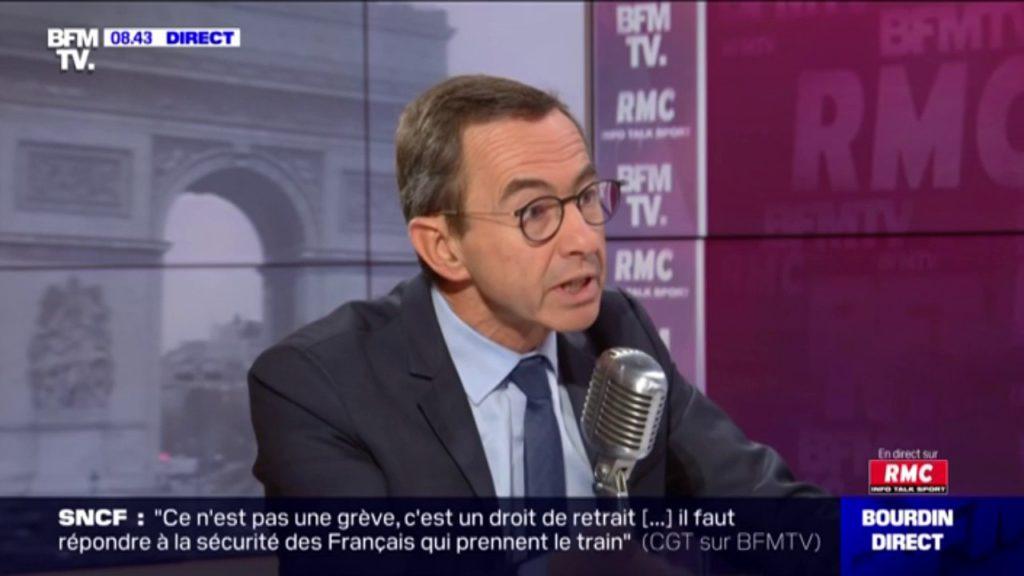 Bruno Retailleau (LR) souhaite «supprimer les aides sociales» aux femmes portant le voile intégral «en cas de récidive»