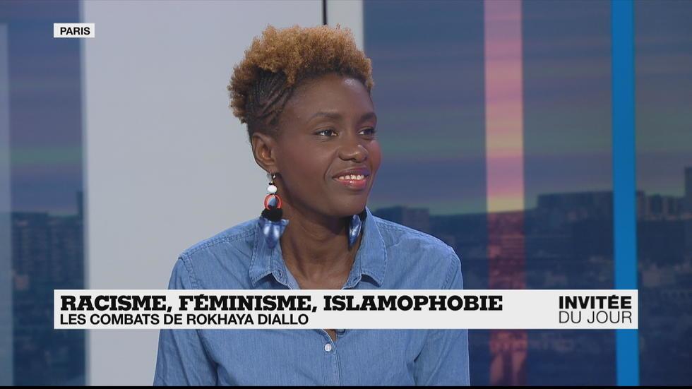 Rokhaya Diallo : «Ma coiffure dans un contexte qui valorise le port des cheveux lisses est politique»