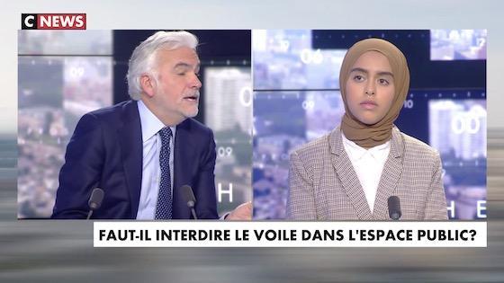 Sara El Attar, femme voilée : «Les musulmans représentent moins d'1/4 de la population française mais occupent plus de 3/4 du débat public. Comment l'expliquez-vous ?»