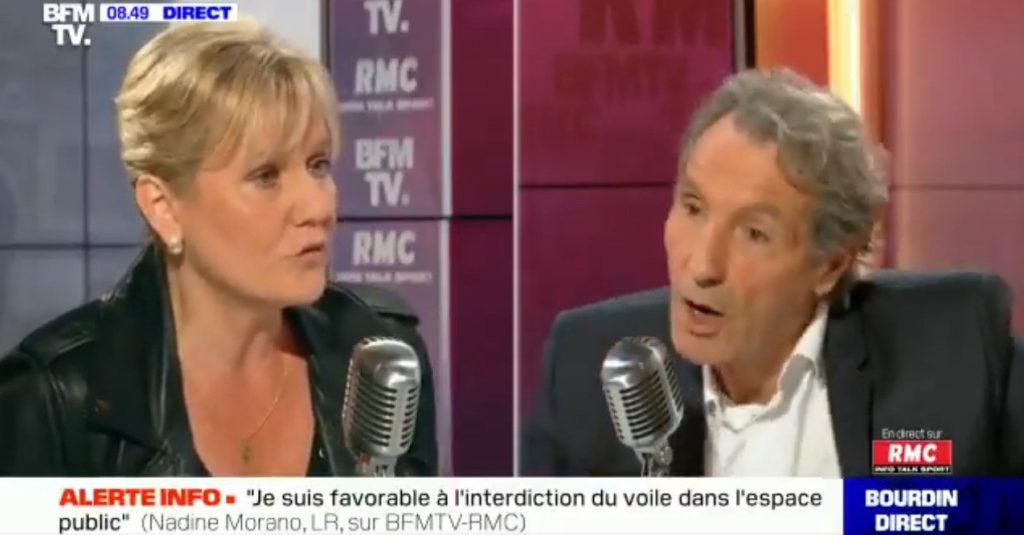 Nadine Morano : «Je suis pour l'interdiction du port du voile dans l'espace public. L'islam a été importé en France par les voies de l'immigration» (MàJ)