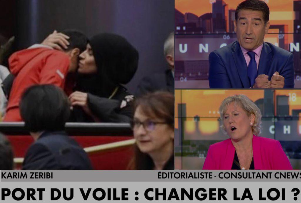 Karim Zeribi à Nadine Morano sur l'affaire du voile au CR de Bourgogne : «Si la République et la laïcité telles qu'elles existent ne vous conviennent pas : changez de pays»