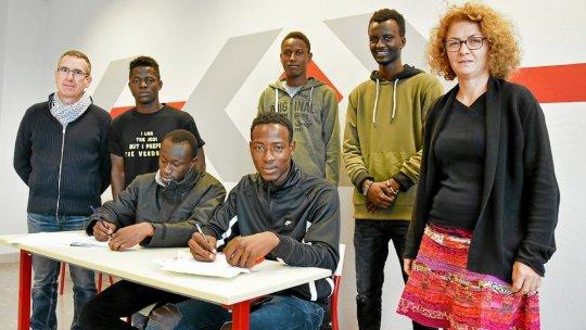 Brest : Les mineurs isolés décident eux-mêmes de leur formation «On ne mettra pas un jeune en peinture s'il veut faire de la vente»