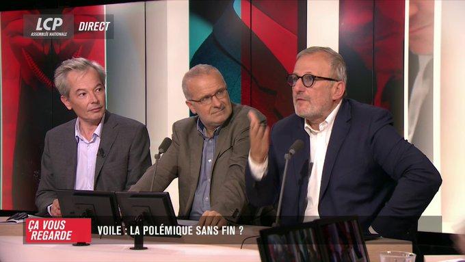 «Je pense que le voile est le symbole de la laïcité». François Pupponi, député du Val-d'Oise et ex-maire PS de Sarcelles (95)