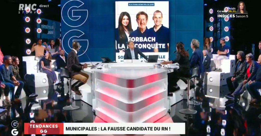 Elina Dumont commente une affiche du RN : «Ils sont tous blancs ! C'est pas du tout représentatif de la jeunesse française !»