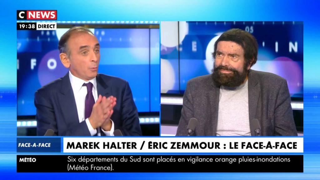 Zemmour Vs Marek Halter : «BHL c'est Harry Potter et vous c'est Oui-Oui»