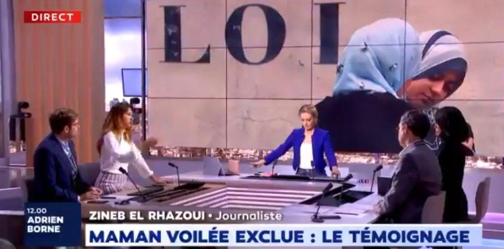 Zineb El Rhazoui sur la mère voilée : «La victimisation est un levier fondamental pour inscrire ce fascisme islamique dans la société française» (MàJ)
