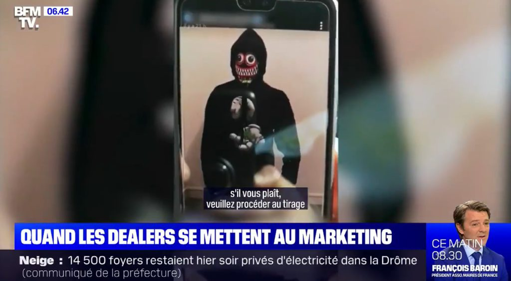 Réductions, tombolas… quand les dealers se mettent au marketing