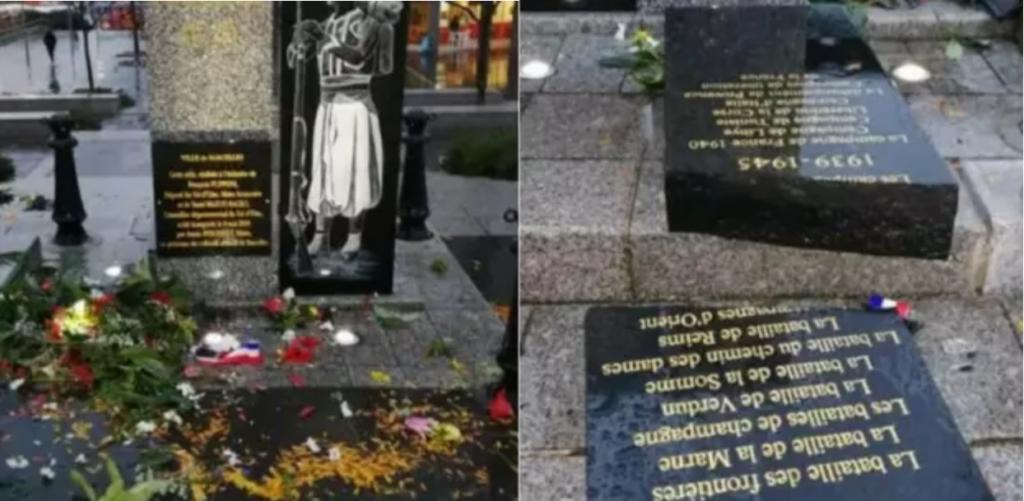 Sarcelles (95) : saccage d'une stèle aux soldats africains, une enquête ouverte
