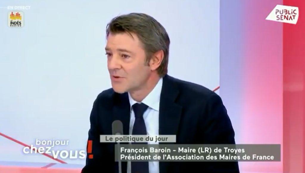 Selon François Baroin lorsqu'une ville investit dans la police municipale l'Etat réduit son degré d'implication