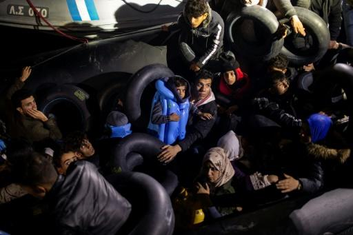 Grèce : Plus de 1350 migrants sont arrivés sur les îles égéennes en un week-end