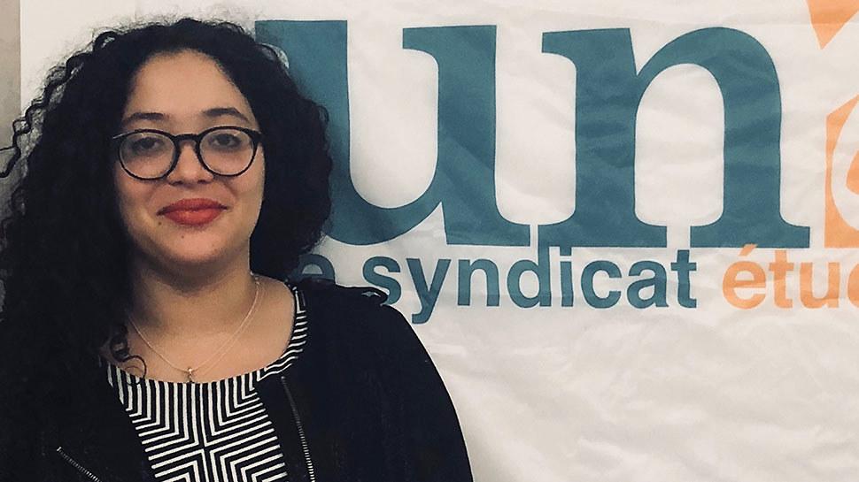 Mélanie Luce (Présidente de l'UNEF) : «Je n'irais pas sur CNews car Zemmour a appelé au meurtre des musulman•e•s « et même » des juif•ve•s. «
