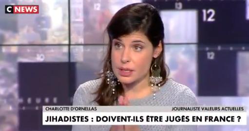 Charlotte d'Ornellas : «La Turquie se protège en expulsant des djihadistes (…) mais si ils ont pu rejoindre l'État Islamique c'est à cause de la Turquie»