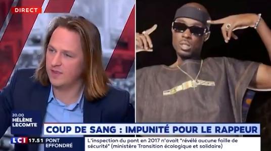 Geoffroy Lejeune : «Cette impunité pour Nick Conrad est choquante (…) sachant que l'on sait être très violent contre des gens qui disent des choses qui ne plaisent pas !»