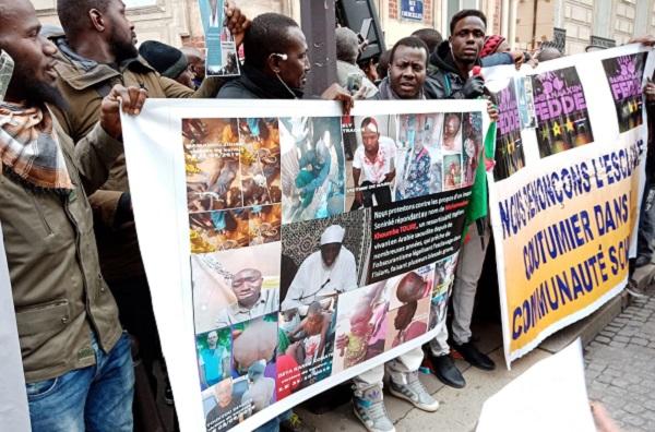 Paris : manifestation devant l'ambassade d'Arabie Saoudite contre un imam malien qui autorise l'esclavage au nom du coran