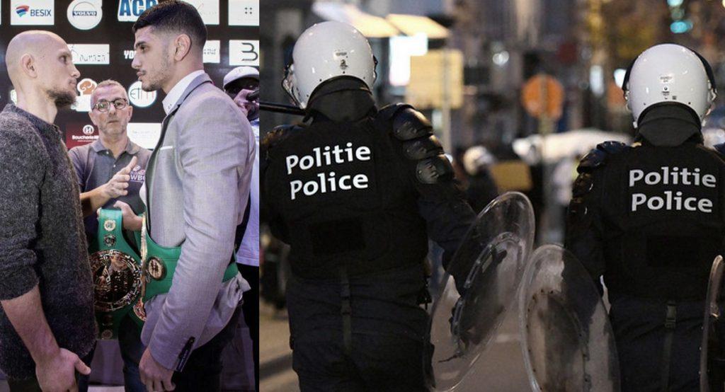 Tensions à Bruxelles après un match de boxe  car un spectateur aurait été traité de «sale Marocain»