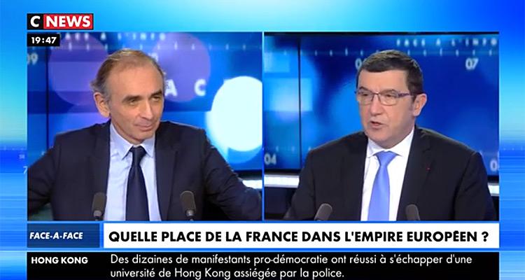 Débat sur Napoléon : Nouveau record d'audience pour «Face à l'info» avec Éric Zemmour (MàJ)