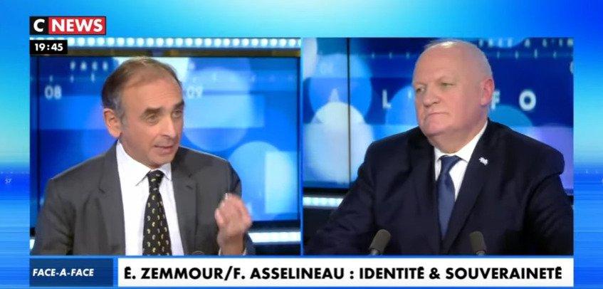 Identité et Souveraineté, Europe, Gaullisme : Zemmour face à Asselineau