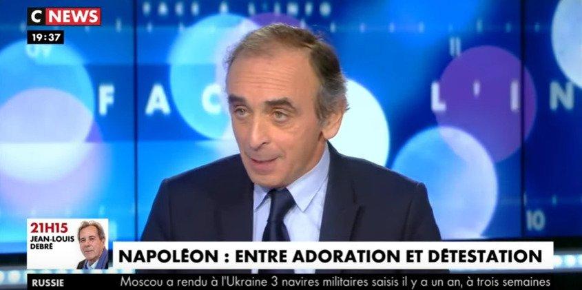 Napoléon, la place de la France, le retour des empires : Éric Zemmour face à l'historien Thierry Lentz